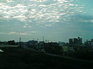 瀬戸川の夜明け