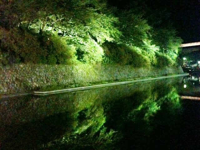 駿府城夜景