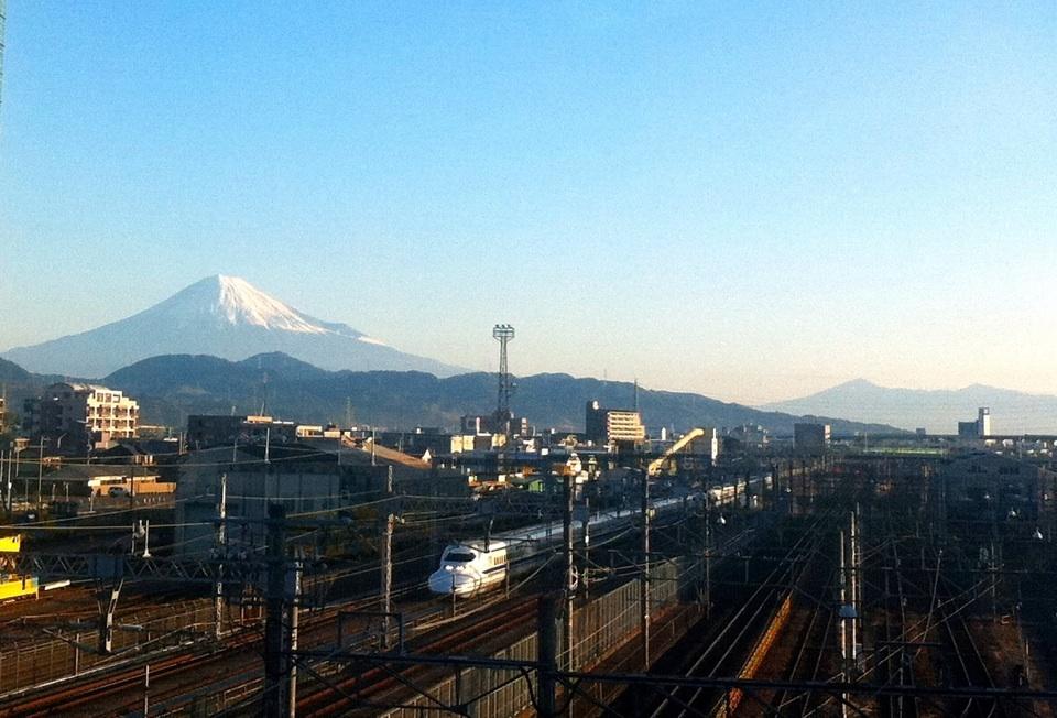 富士山&新幹線